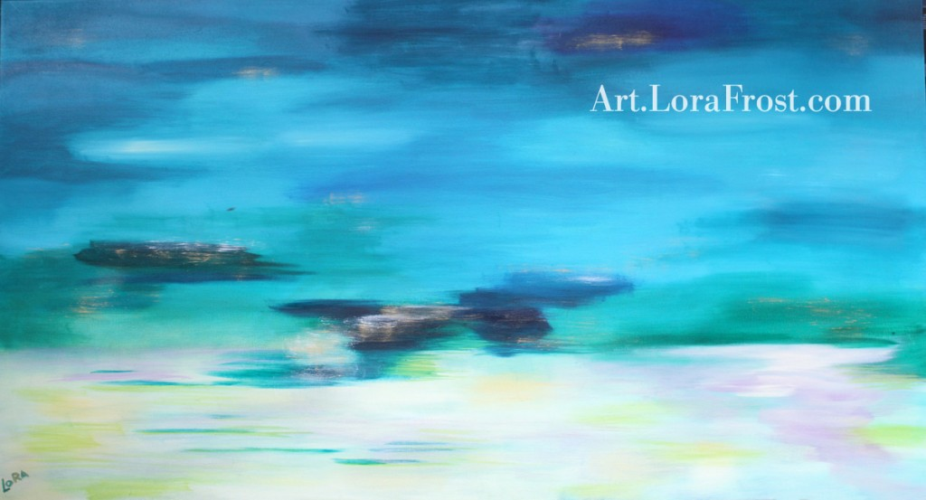"""Calm"" Oil Painting by Lora Frost. Original and Prints Available"